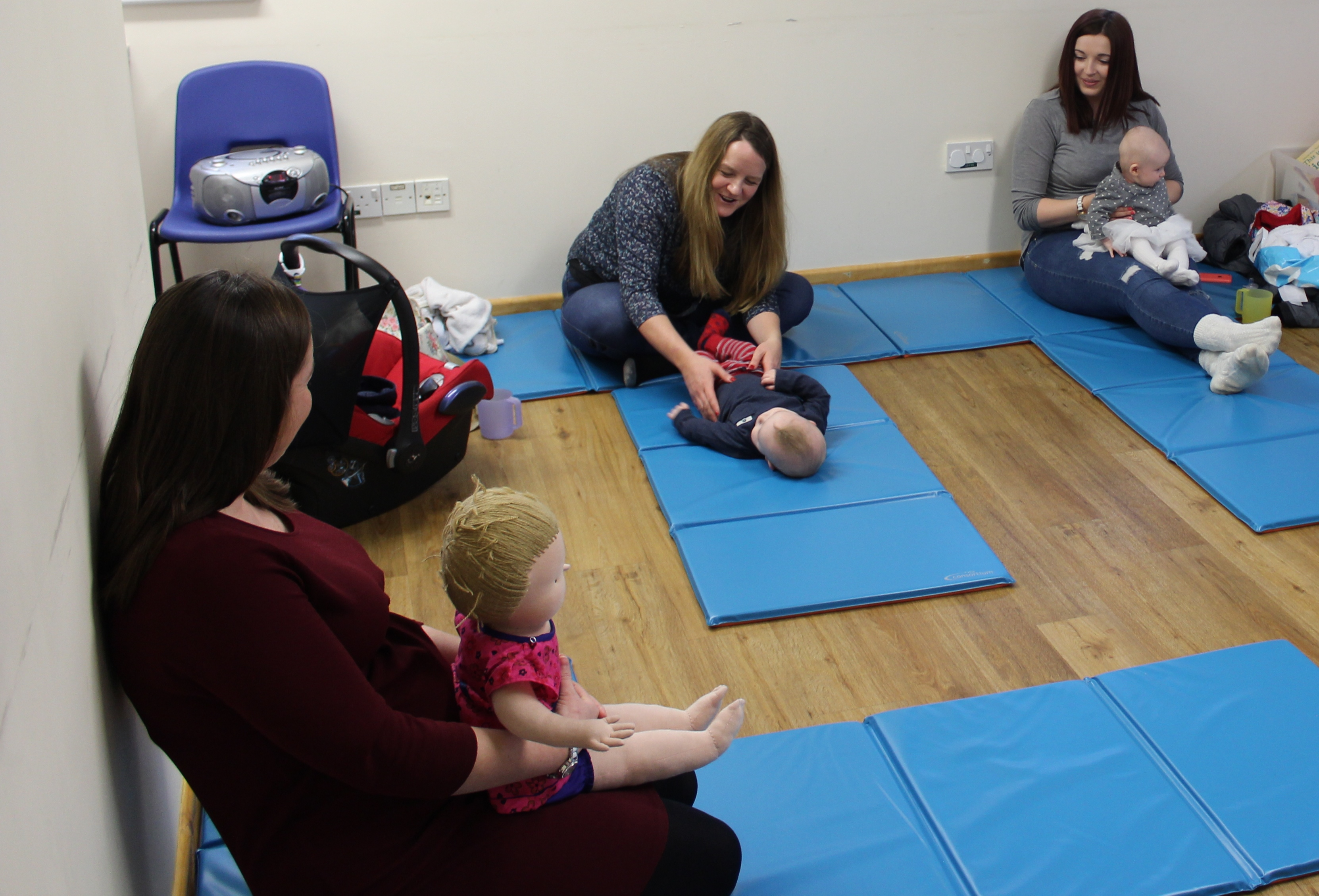 Dorset HealthCare helping to strengthen the bond between mother and baby