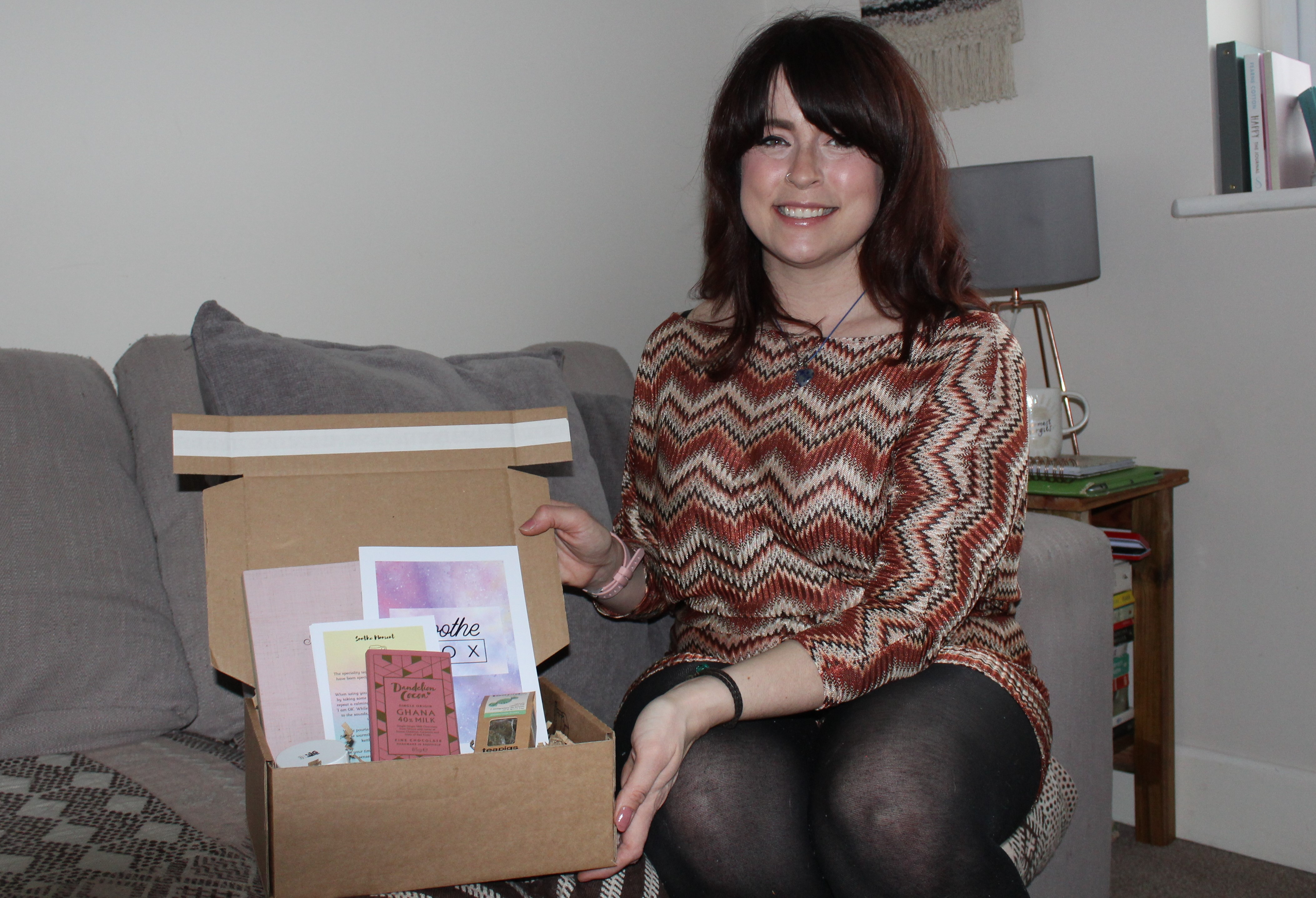 Natasha_Evans_with_her_Soothe_box.JPG