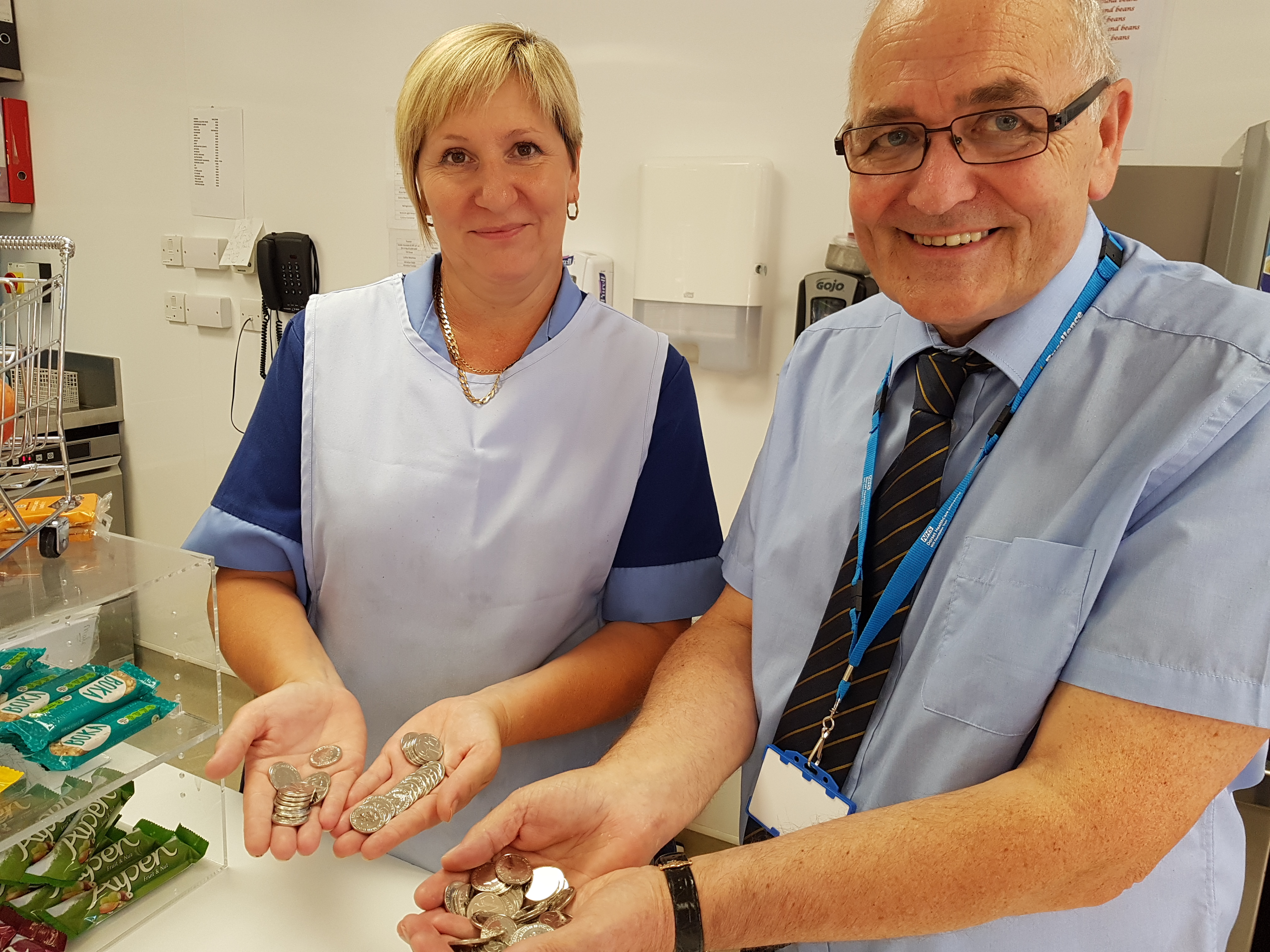 Will you get a special edition Royal Mint 10p coin at a Dorset HealthCare site?