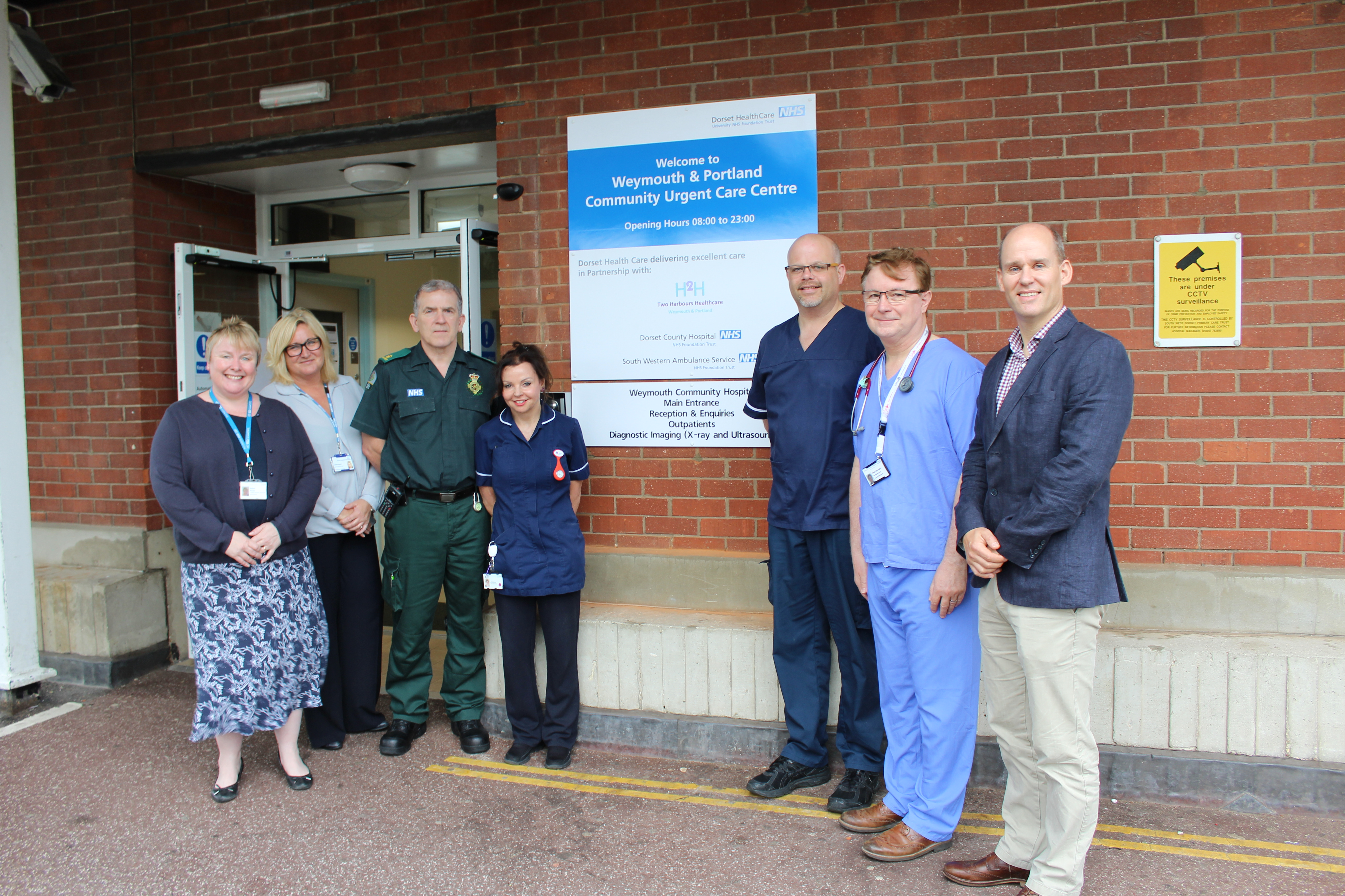 New urgent care centre opens in Weymouth this summer