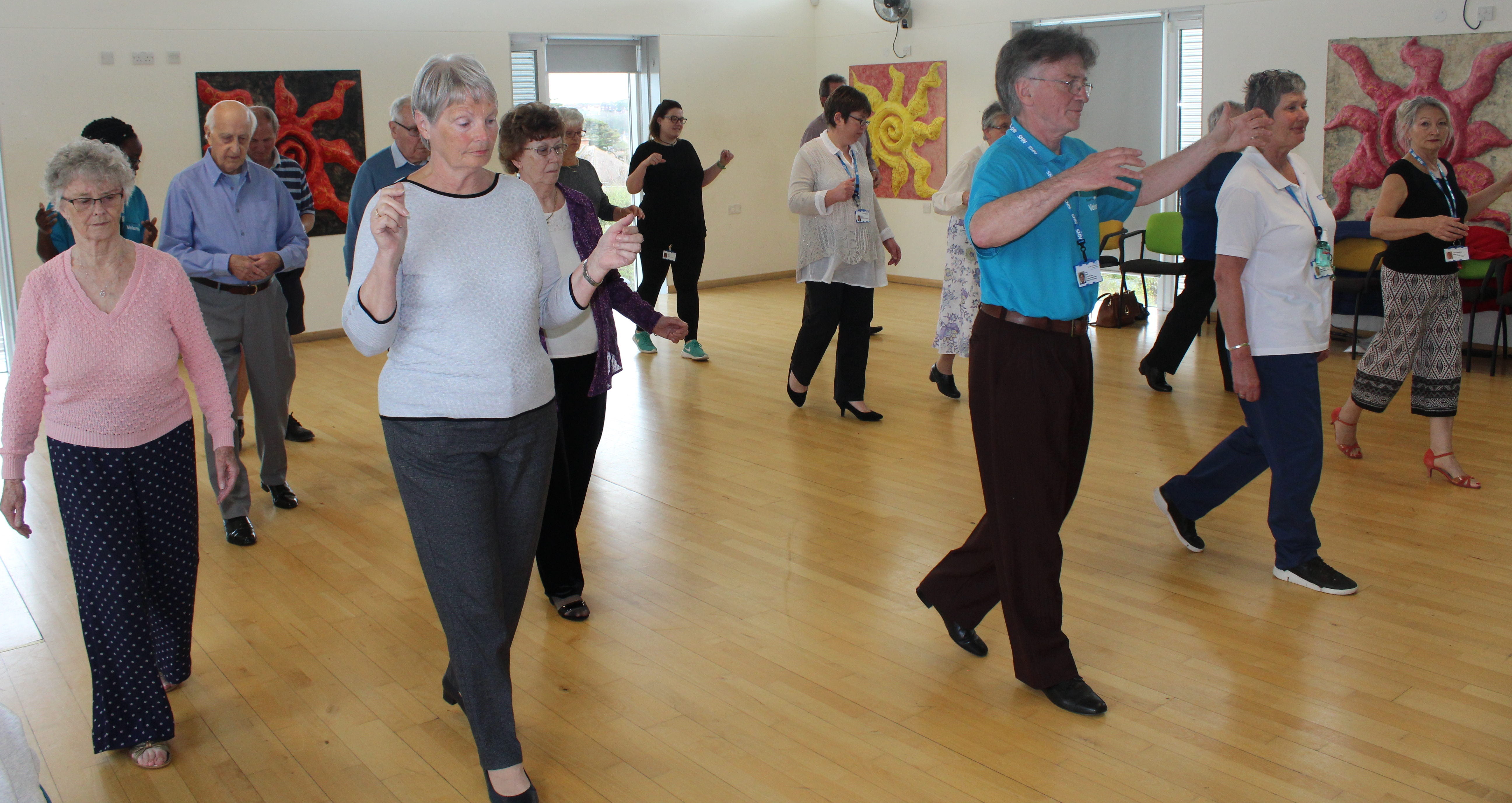 Patients in Weymouth take to tango to aid their recovery from surgery