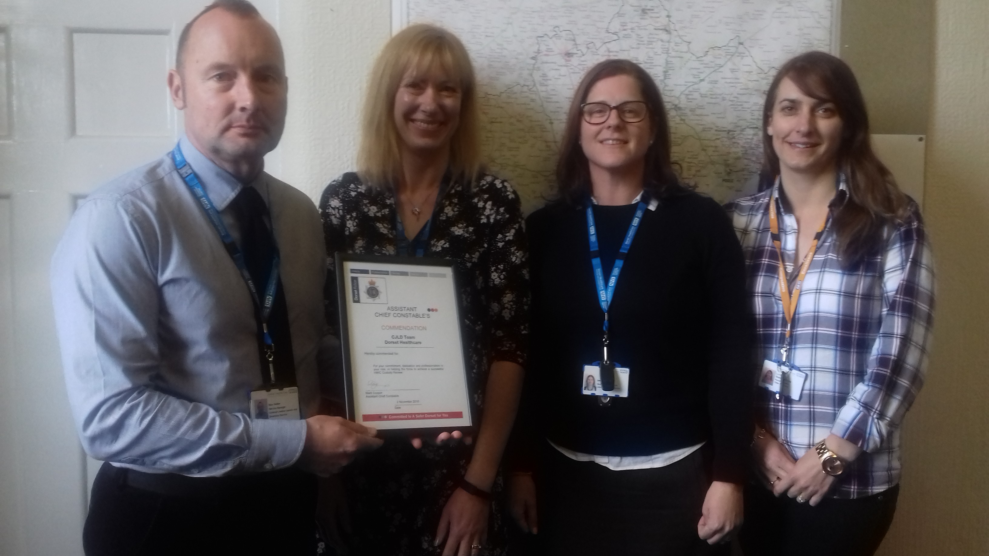 Top accolade for our Criminal Justice, Liaison and Diversion Service