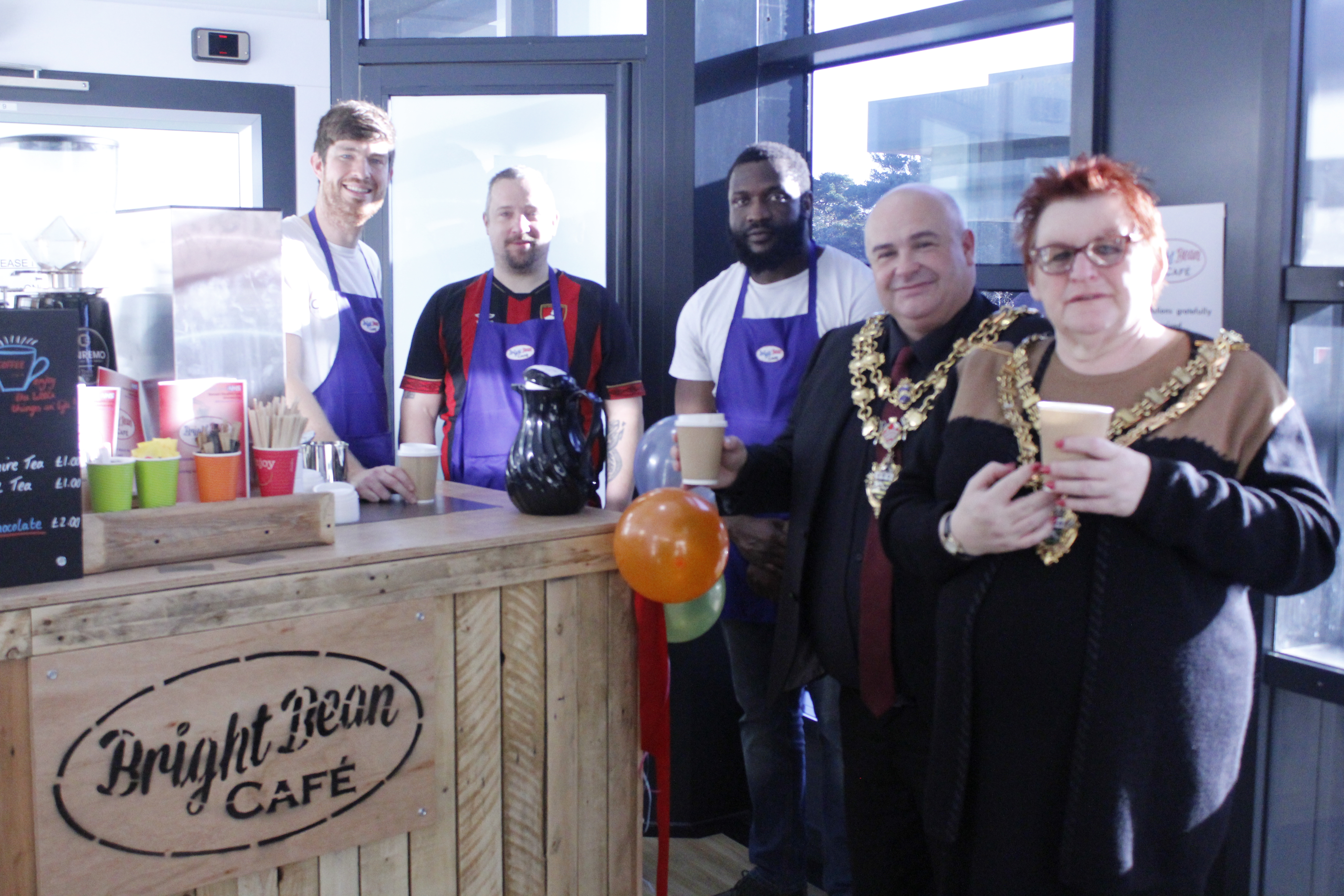 New pop-up café helping mental health patients find the perfect blend for recovery