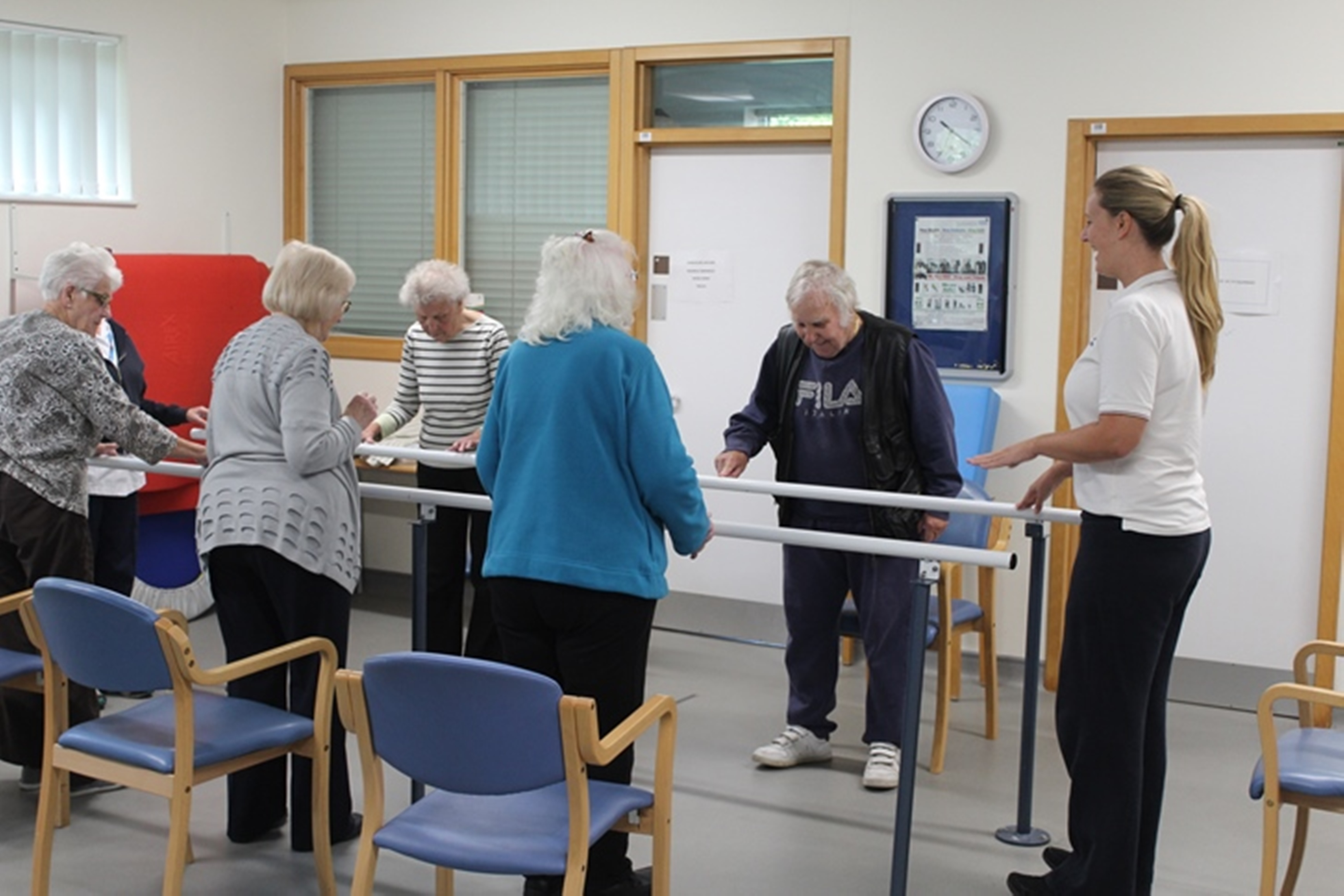 ​Falls clinic helps people to get back on their feet – and stay there