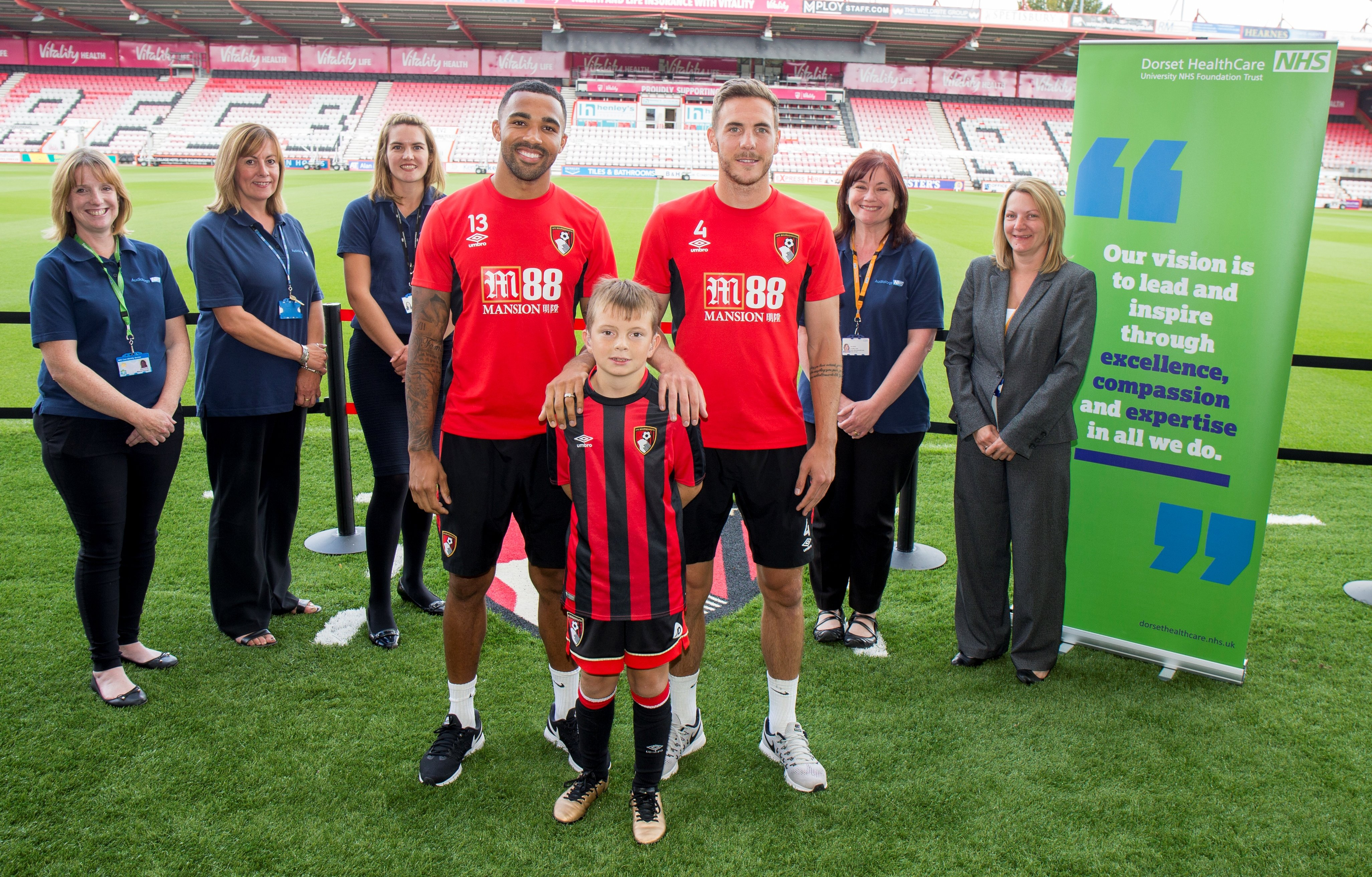 AFC Bournemouth and Dorset HealthCare join forces to give young Cherries fan new lease of life