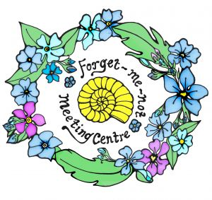 Purbeck forget me not logo